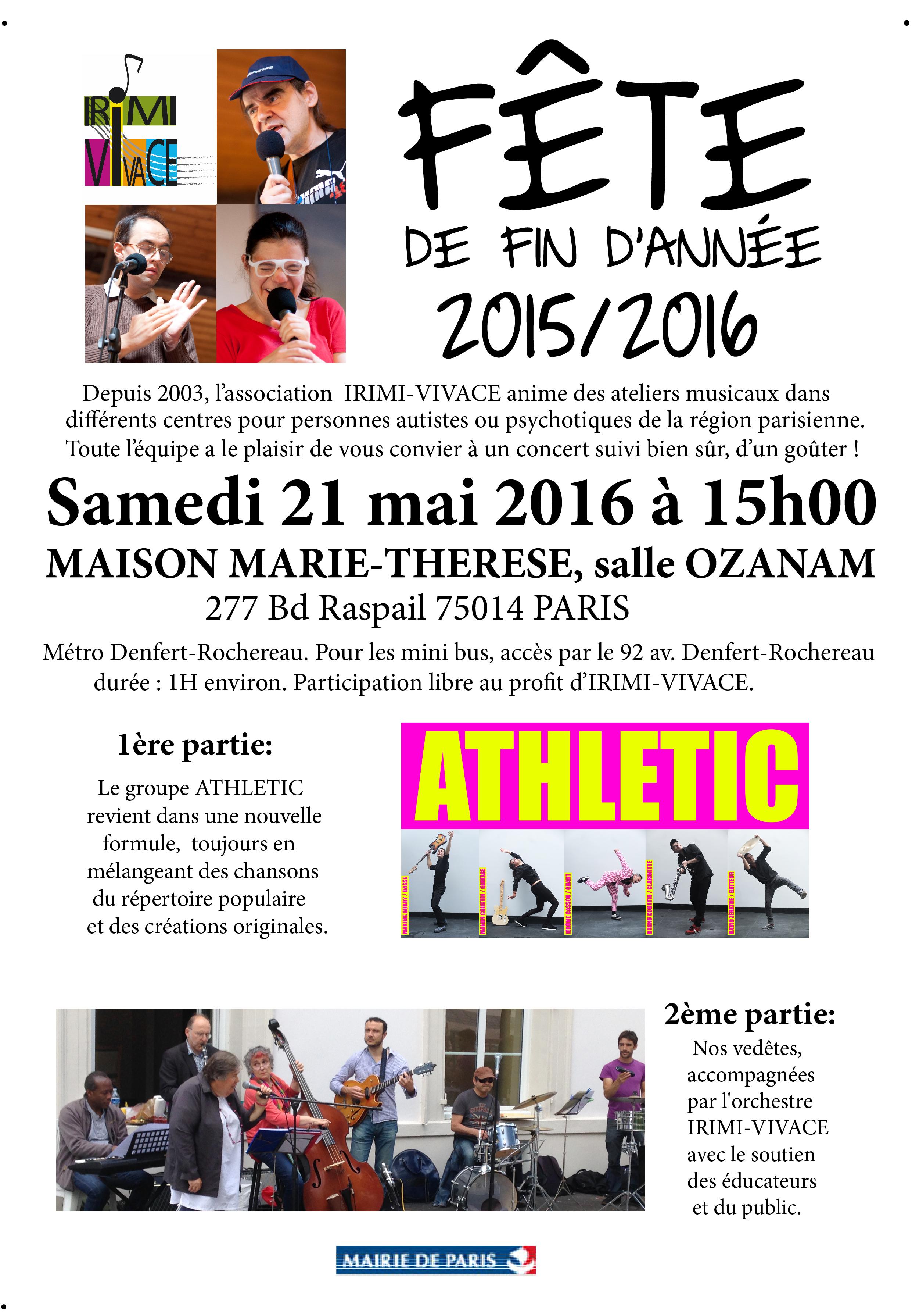 Concert IRIMI 21 mai